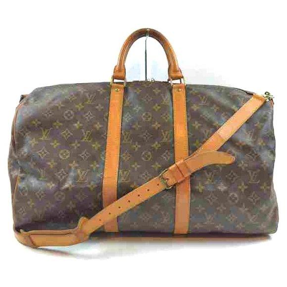 Louis Vuitton Handbags - Auth Louis Vuitton Keepall 50 #6327L37